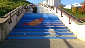 Арт-лестница на Дубровенке